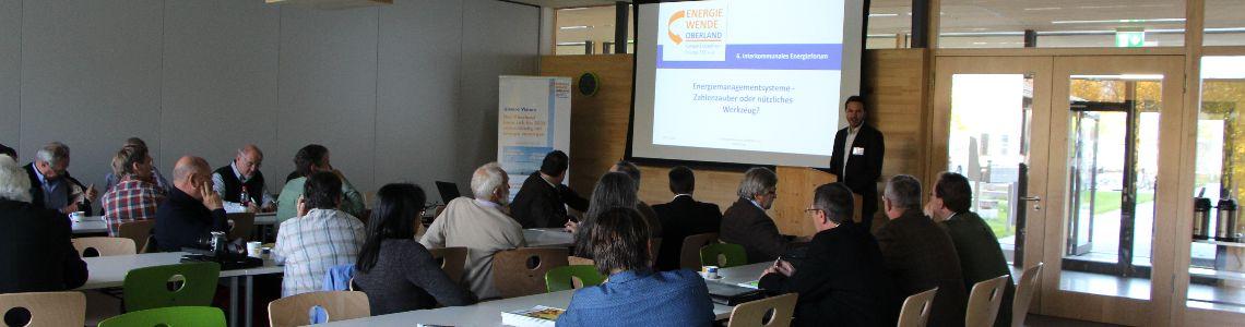Fortbildungsangebot Energie für Unternehmen im Oberland