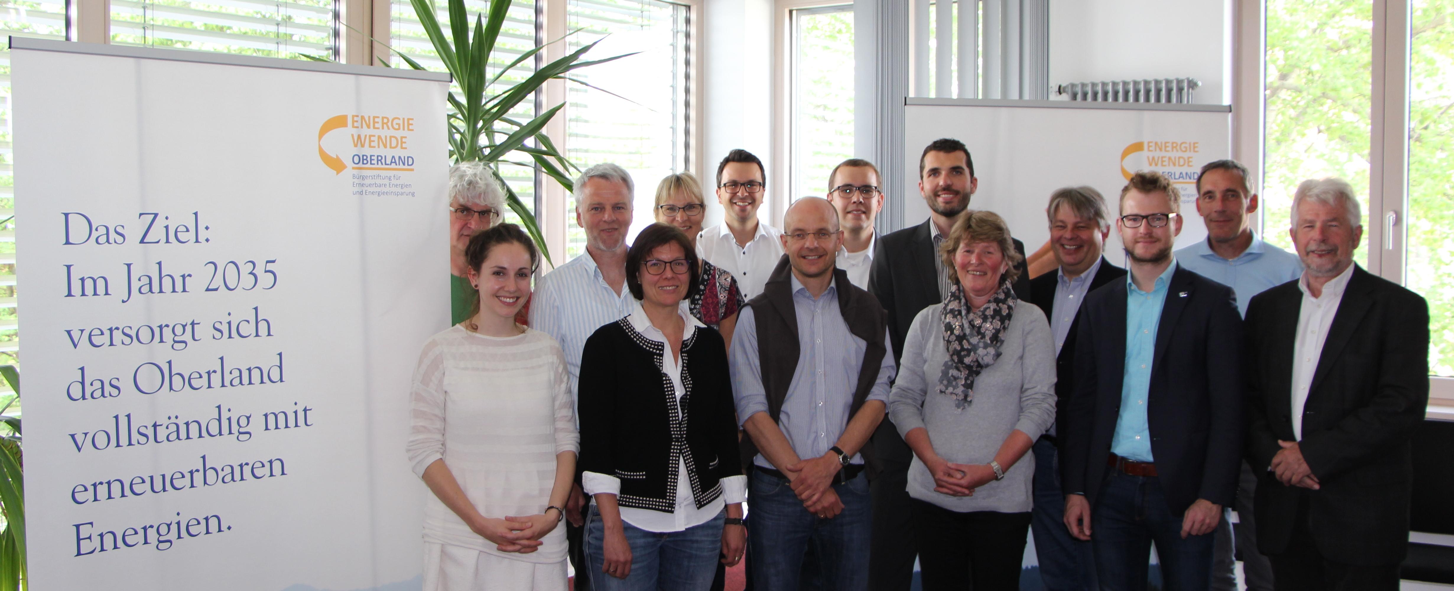 Energieeffizienz in Unternehmen – Akteurstreffen im Oberland