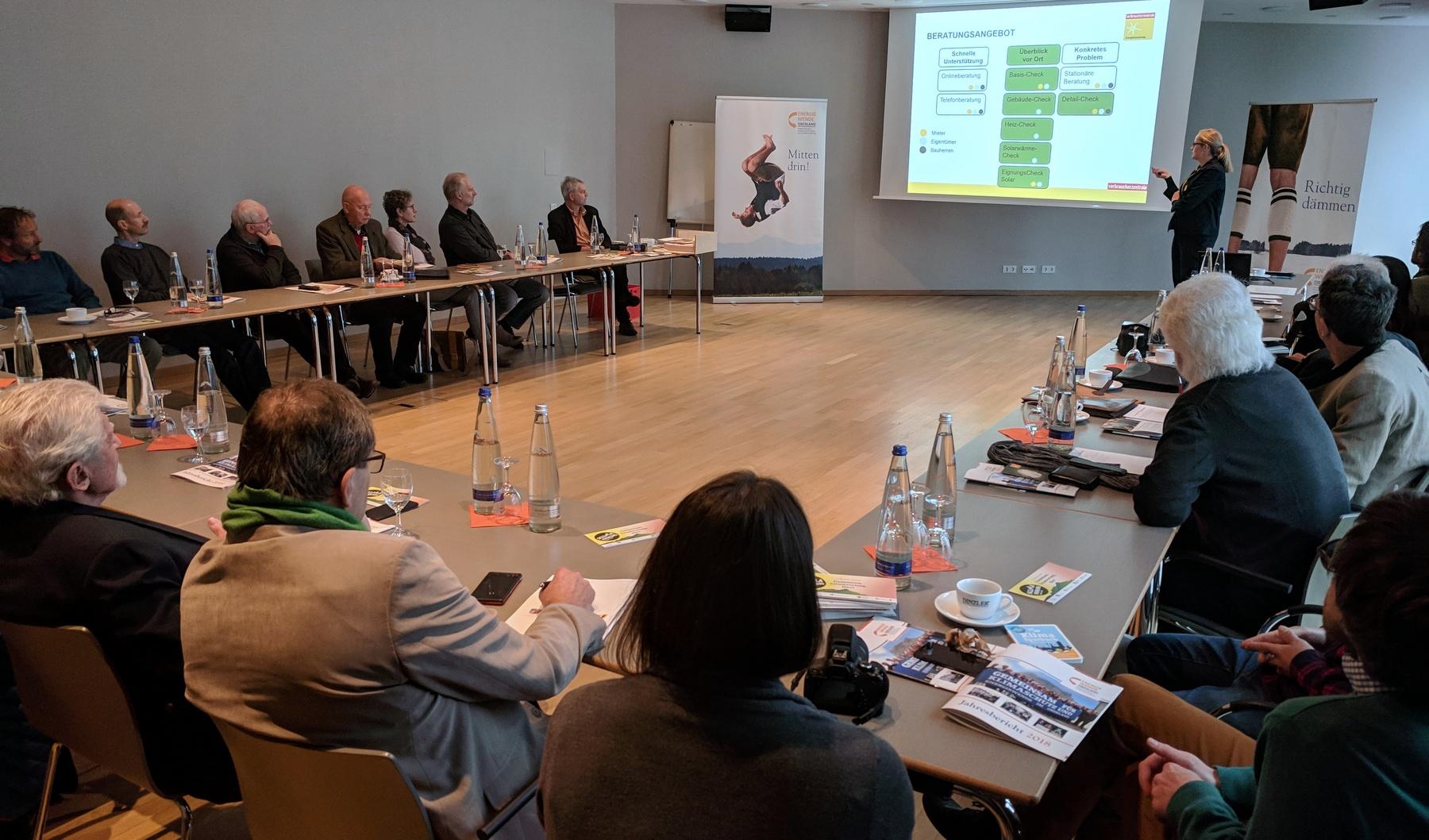 Energieberatungsgipfel im Oberland 2019